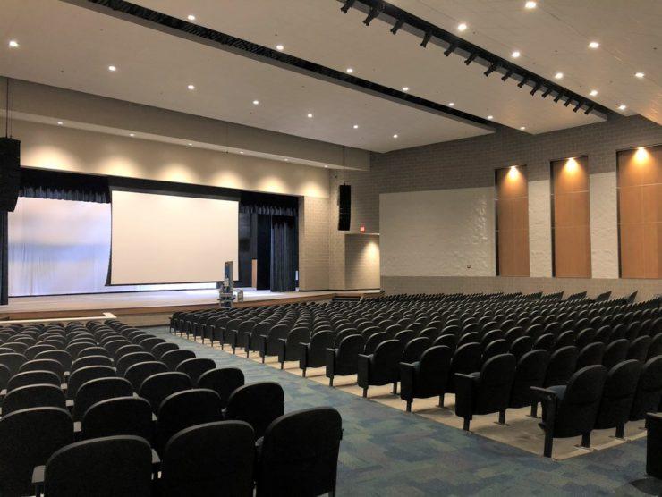 auditorium painting