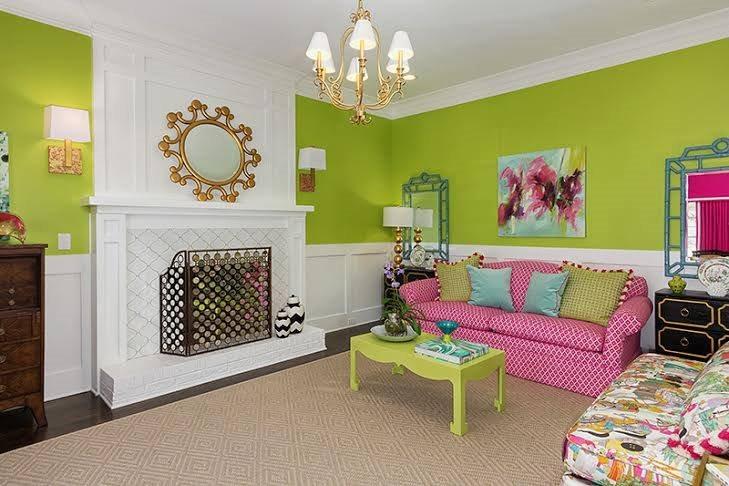 bright interior painting